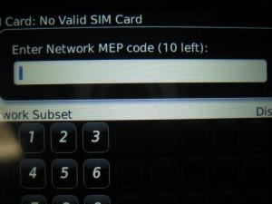 sim mep unlock code