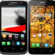 Alcatel OT Fierce and Evolve