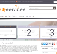Cellfservices New Frontpage Design