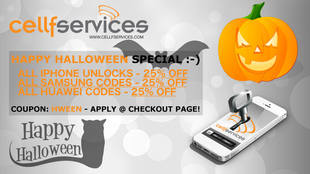 Happy Halloween 2017 Unlocking Special