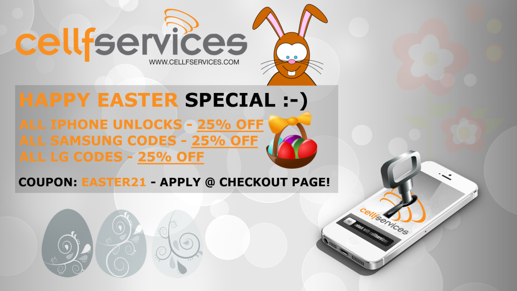 EASTER 2021 Special Discount
